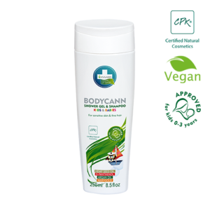Annabis bodycann kids babies shampoo and shower gel